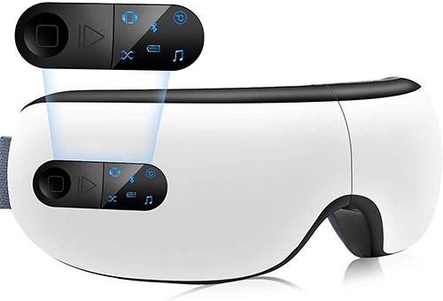 Konobiya 【日本代購】眼部按摩儀 按摩器 眼部美容儀 音樂播放USB充電式