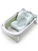 嬰兒浴盆 寶寶折疊浴盆初生新生幼兒童可坐躺家用大號桶小孩用品 莎瓦迪卡