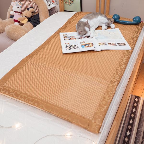 專櫃級 幼童、嬰兒涼蓆【加厚款】MIT 純植物纖維 清涼透氣不夾髮 台灣製造