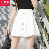 百褶裙 jk裙子仙女百褶學生超短裙包臀a字高腰白色半身裙女2020夏季新款