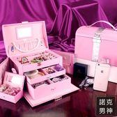 首飾盒公主歐式韓國收納盒飾品大容量多層jy超大項鍊七夕交換禮物送女友 聖誕節禮物大優惠