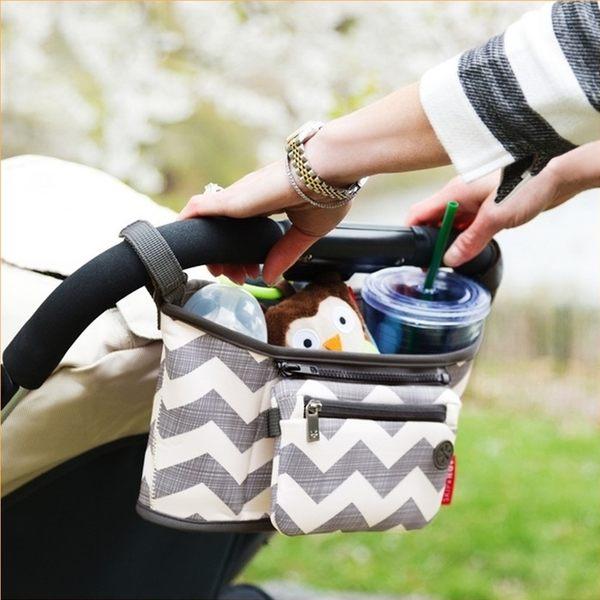 [拉拉百貨] 推車用 媽媽掛包 防水 保溫 收納掛袋 媽媽包 可拆卸 手機包