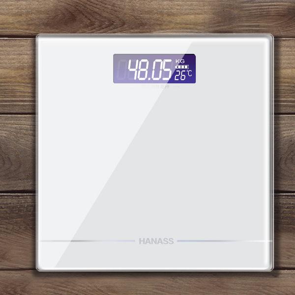 海納斯電子稱家用成人體重秤夜視人體秤健康秤測量精準溫度稱重計