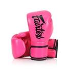『VENUM旗艦館』14oz Fairtex 健身房拳擊手套~重擊打沙袋拳套~個性化改裝 - 桃紅黑 BGV14
