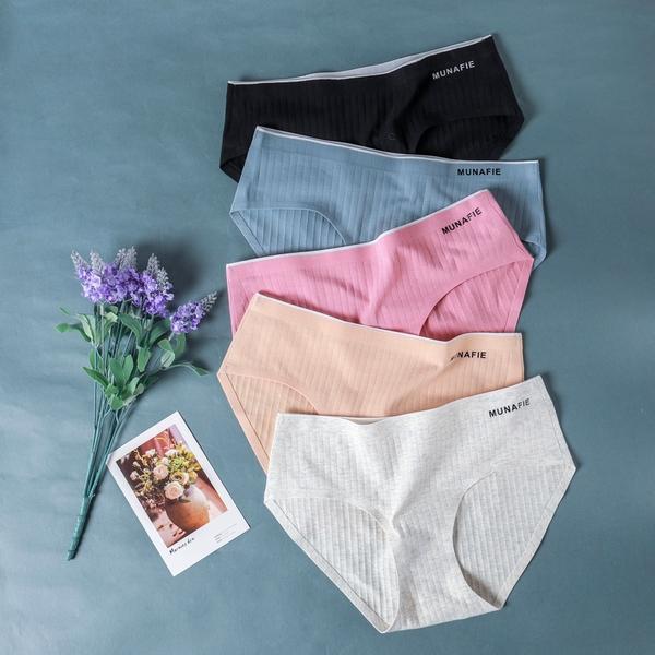 MUNAFIE彈力坑條直紋內褲(共5色)【NJ1425GW】預購