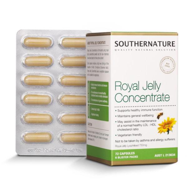【澳綠康倍】Southernature 高濃縮蜂王漿膠囊 x1瓶(72粒/瓶) ~~HDA含量最高6%