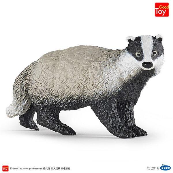 【Good Toy】法國 PAPO 50197 野生動物 獾 Badger
