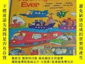 二手書博民逛書店Best罕見Travel Activity Book Ever(