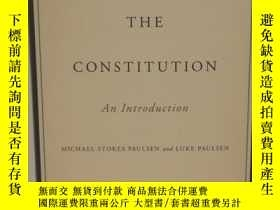 二手書博民逛書店憲法導論罕見The Constitution: An Intro