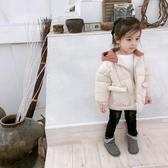 女童棉服2019新款韓版兒童寶寶冬裝外套女孩洋氣加厚短款羽絨棉身