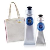 L'OCCITANE 歐舒丹 乳油木護手霜(150ml)+(30ml)+玫瑰托特包