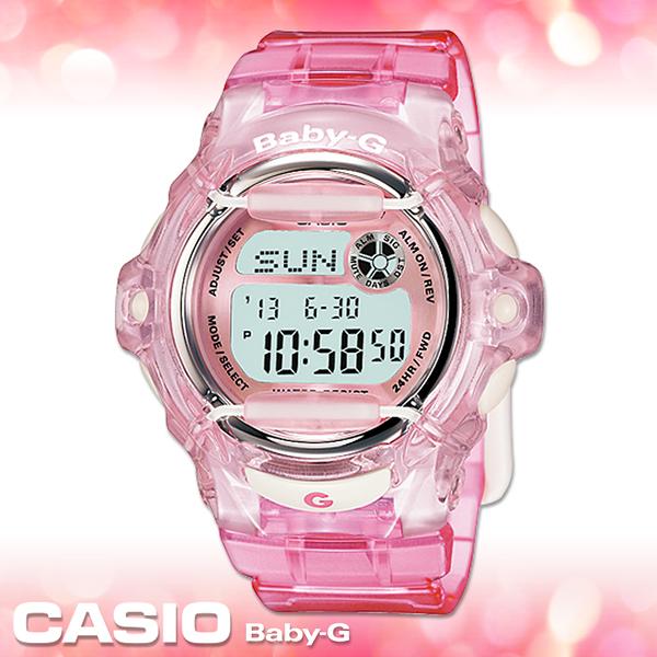 CASIO卡西歐 手錶專賣店  Baby-G BG-169R-4D 女錶 夏日風 活力休閒 防水200米 橡膠錶殼錶帶