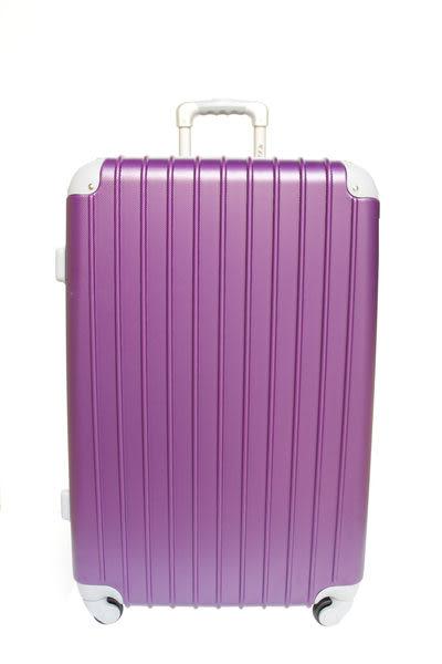 【YC Eason】超值流線型可加大款海關鎖ABS硬殼行李箱(28吋-幻紫)