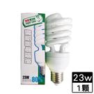 最划算 電子式螺旋省電燈泡-黃光(23W...