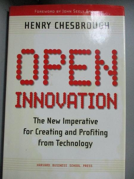 【書寶二手書T2/大學商學_EW5】Open Innovation: The New Imperative for Cr