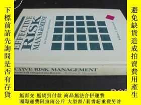 二手書博民逛書店EFFECTIVE罕見RISK MANAGEMENT英文原版書:
