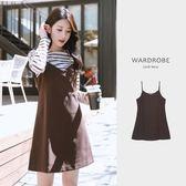 簡單減齡細肩吊帶裙/ 衣櫃控-WardrobE / FA126