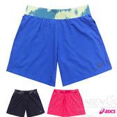 ASICS亞瑟士 女慢跑短褲(靛藍)女性款式中褲長最長的慢跑短褲