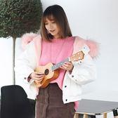 尤克里里初學者學生成人女純木質手工小吉他烏克麗麗可調音可演奏WY【快速出貨】