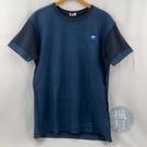 BRAND楓月 KENZO 高田賢三 深藍色 拼接造型 海浪圖騰刺繡 100%棉 上衣 #M 短袖T