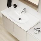 【麗室衛浴】瑞士GEBERIT 500.623.01.2 Acanto系列 可壁掛檯面面盆(90 x 48.2cm)