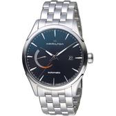 Hamilton漢米爾頓 Jazzmaster Power Reserve系列動力顯示機械腕錶 H32635131