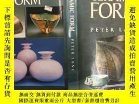 二手書博民逛書店Ceramic罕見Form陶瓷造型,1988首版大開本布面精裝,