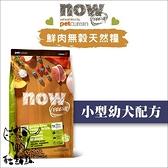 Now〔鮮肉無穀小型幼犬配方,6磅,加拿大製〕(活動優惠價)