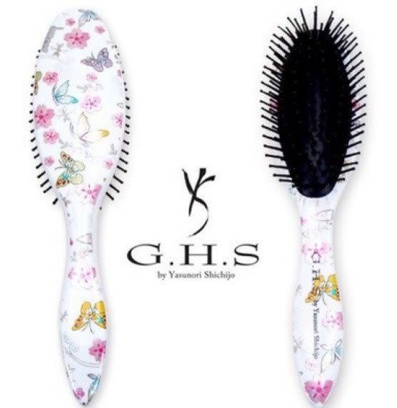 七條慶紀G H S設計美髮梳子按摩梳橢圓小147370代購通販屋