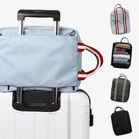 ✭米菈生活館✭【J36】多功能行李拉杆包 手提 旅行袋 商務 收納 健身袋 肩背 網袋 多夾層