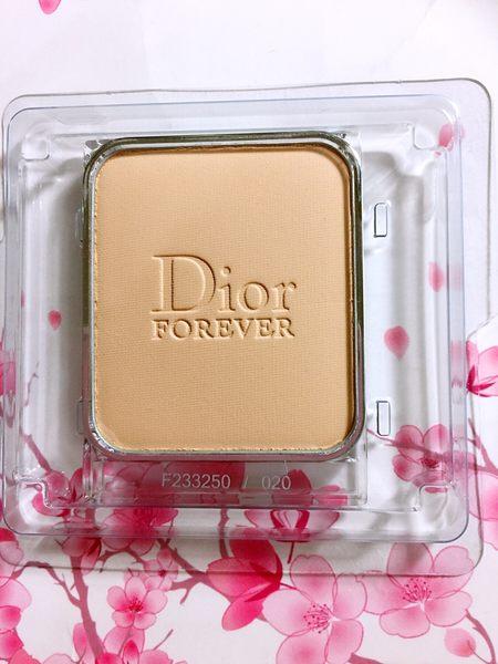 DIOR 迪奧 超完美絲柔粉餅蕊 (色號:012) 百貨公司專櫃正貨透明盒裝
