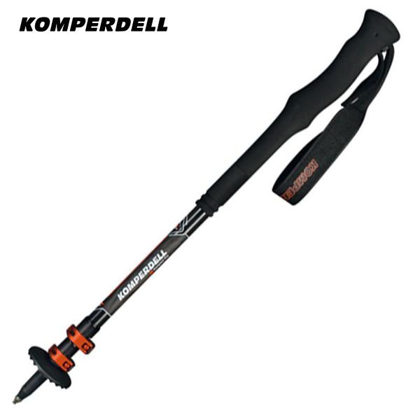 丹大戶外【KOMPERDELL】奧地利 碳纖強力鎖定泡棉長握把登山杖 120cm 1752326-10 手杖│健行杖