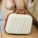 可愛小行李箱14寸手提化妝箱大容量洗漱包收納整理箱16寸電腦箱子 喵小姐