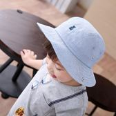【雙十二】秒殺春夏天男童太陽帽牛仔帽嬰幼兒漁夫帽寶寶防曬帽兒童遮陽帽子翻邊gogo購