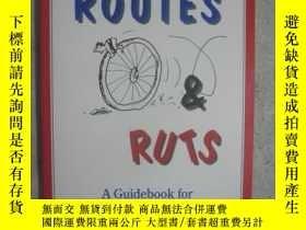 二手書博民逛書店ROADS,罕見ROUTES & RUTS(A Guideboo