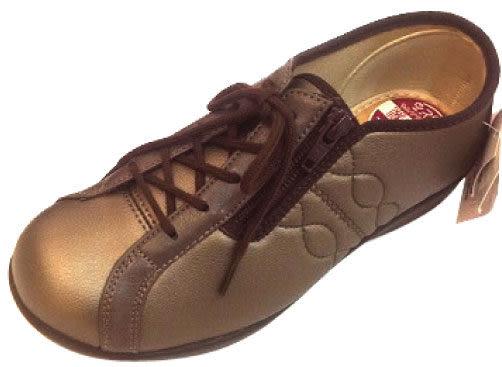 【海夫健康生活館】日本 elder 仕女足樂休閒鞋(顏色:紅、金棕)