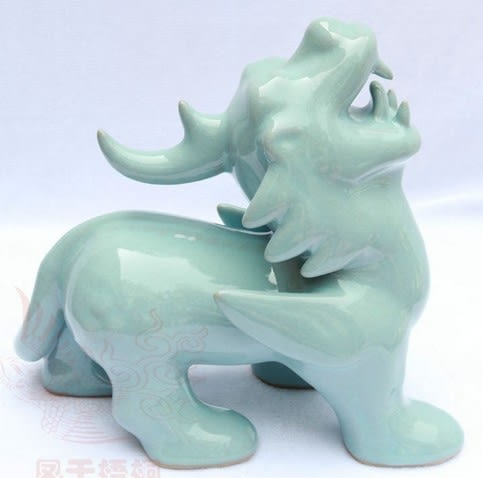 【協貿國際】貔貅原創手工陶瓷工藝品