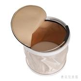 折疊水桶戶外釣魚桶 便攜式有帶蓋伸縮折疊桶 QX11467 『寶貝兒童裝』