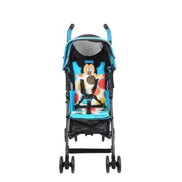 【ViVibaby】迪士尼米奇米妮點點/花花傘車(粉DSC01905P)(藍DSC01906B)
