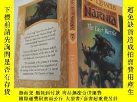 二手書博民逛書店the罕見chronicles of nare the last battle 最後一戰的編年史Y200392