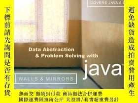 二手書博民逛書店Data罕見Abstraction And Problem Solving With JavaY256260