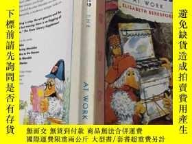 二手書博民逛書店the罕見wombles at work:工作中的女人Y200392