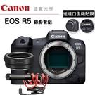 [分期0利率] 送3M進口全機貼膜 Canon EOS R5 + RODE NTG + 轉接環 錄影套組 台灣佳能公司貨 EOS R RP R6