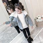 女童燈芯絨加厚外套新款洋氣兒童棉服短款秋冬裝棉衣中大童潮