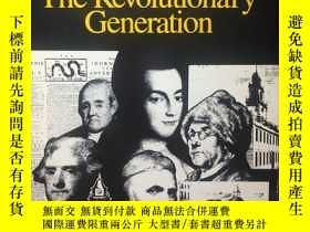 二手書博民逛書店英文原版:Representative罕見Americans # The revolutionary genera