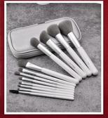 12支竹炭纖維化妝刷套裝全套化妝工具眼影刷腮紅刷散粉刷子