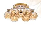 【燈王的店】北歐風 半吸頂6+1燈 客廳燈 餐廳燈 吧檯燈 301-98219-1