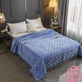 毛毯一面絨一面棉毛絨床單加厚夾棉防滑珊瑚絨毛【匯美優品】