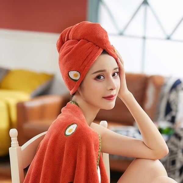 干發帽女士超強吸水速干帽毛巾加厚洗頭發浴帽子包頭巾擦頭發神器魔方數碼
