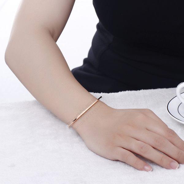 316L鈦鋼手環 簡約細款手環 氣質款 女生禮物 情人 禮物推薦 單件價【AJS171】Z.MO鈦鋼屋